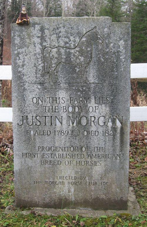 Justin Morgan Memorial